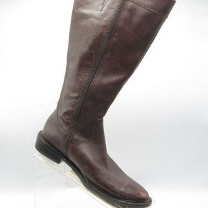 Eddie Bauer Size 8.5 M Brown Riding Boots C3A E1